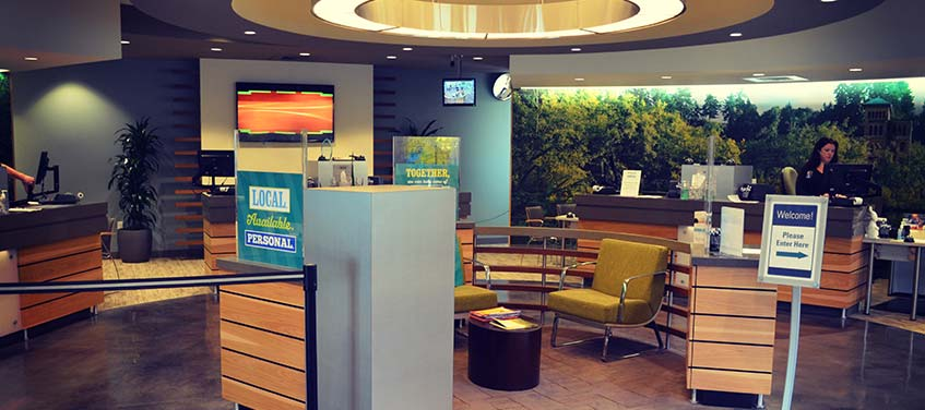 Tumwater Town Center Branch Interior