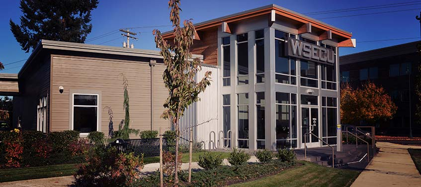Tumwater Town Center Branch Exterior
