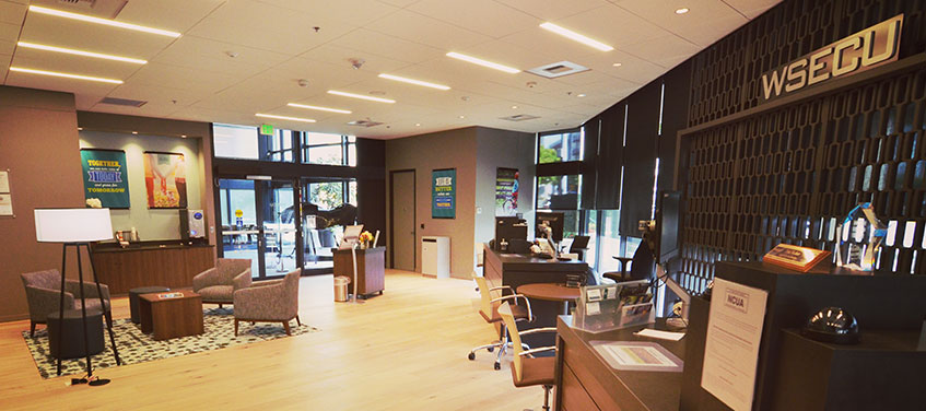 Bellevue Branch interior