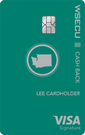 Cash Back Visa Signature Card