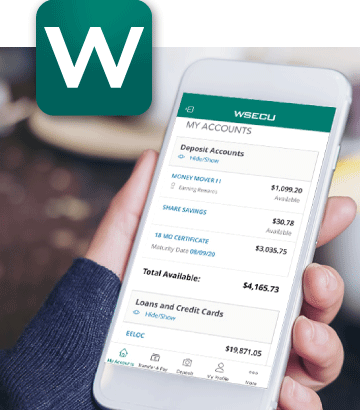 WSECU New Mobile Banking App